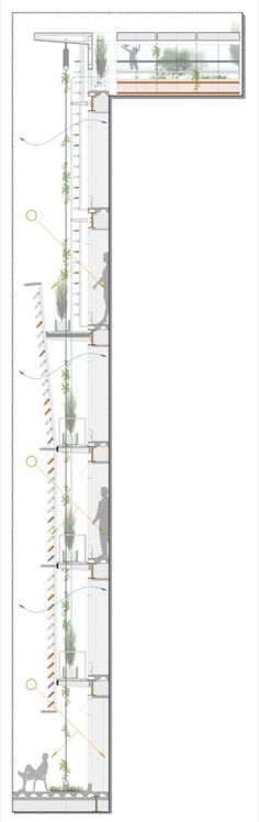 30 Plans, Sections and Details for Sustainable Projects,via © Estudio A0