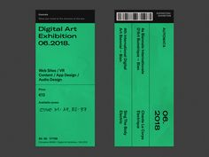 Exhibition Tickets designed by Alexandrov Oleg. Web Design, Layout Design, Print Design, Graphic Design Posters, Graphic Design Illustration, Typography Design, Brand Identity Design, Branding Design, Identity Branding
