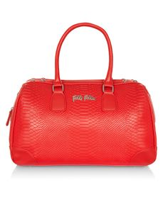 Reflections Bag, £185, Folli Follie Backstage, Fall Winter, Colours, Yellow, Purple, Bags, Fashion, Handbags, Moda