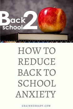 Ways to reduce back to school anxiety for your child is in the preparation. Create fun, joyful images of being in school will relax your child. Conscious Parenting, Mindful Parenting, Peaceful Parenting, Gentle Parenting, Parenting Advice, School Stress, Going Back To School, Anxious