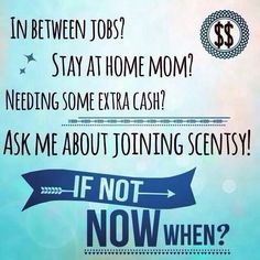Contact me at 916-412-1556 if you are interested in selling Scentsy!