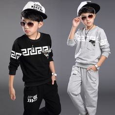 $18.99 (Buy here: https://alitems.com/g/1e8d114494ebda23ff8b16525dc3e8/?i=5&ulp=https%3A%2F%2Fwww.aliexpress.com%2Fitem%2F2015-New-Autumn-Winter-Boy-Set-Thermal-Children-Tracksuit-Kids-Clothing-Suit-Boys-Long-sleeved-Shirt%2F32397324185.html ) 2016 New Autumn Spring Boy Set Thermal Children Tracksuit Kids Clothing Suit Boys Long-sleeved Shirt+trousers Suits For 3-12yrs for just $18.99