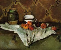 Paul Cézanne - Still Life 1:: Paul Cezanne :: Allpaintings Art Portal