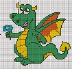 MAGIC CROSS STITCH: DRAGHI E DINOSAURI