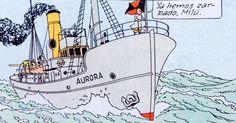 """La estrella misteriosa - Buque de Investigación Polar """"Aurora"""""""