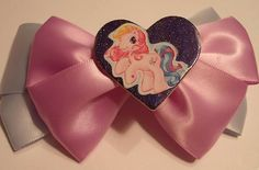 Baby Blue and Lavender My Little Pony Hair Bow by JENSTARDESIGNS, $4.75
