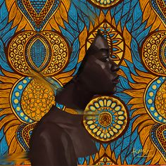 Melanin To Boot. Contemporary African artworks by emerging African artists. Pain… Melanin To Boot. Contemporary African artworks by emerging African artists. Paintings, digital art and illustrations Art And Illustration, African Artwork, African Art Paintings, Arte Tribal, Tribal Art, Monet, Afrique Art, Motif Art Deco, Contemporary African Art