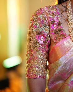 Lehenga Designs Simple, Wedding Saree Blouse Designs, Pattu Saree Blouse Designs, Stylish Blouse Design, Fancy Blouse Designs, Blouse Neck Designs, Maggam Work Designs, Designer Blouse Patterns, Imagination