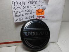 92-09 Volvo CENTERCAP S Series 850  Black-86 46379-wheel-cover-hub-2436 #VOLVOCENTERCAP