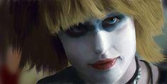 """Pris"" Daryl Hannah Blade Runner (1982) by Illyana Rasputin"