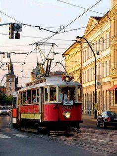 Prague - picturesque trams