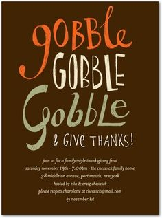 69 best thanksgiving invitations images on pinterest invitation