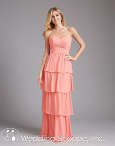Bridesmaid Dresses Allure  1376 Bridesmaid Dress Image 1