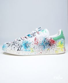 Adidas Original Stan Smith RXL Custom Paint Stains