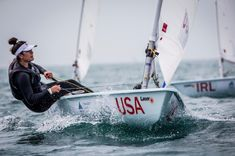 December 12 2017 -  Charlotte Rose wins both girl's laser radial races at the 2017 Youth Sailing World Championships in China