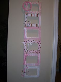 If I had kids, which thank the Lord I don't, I would craft this for his/her room!