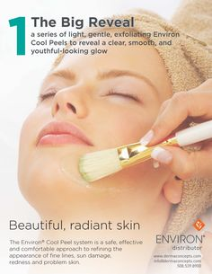 The Environ Cool Peel range was developed specifically for trained skin care professionals and doctors to achieve safe, effective results for their clients. Our unique system is easy to use with guidelines that are simple and realistic. With proper use, one can expect the skin to look more refined and radiant, with an overall improved appearance Ask your local Environ stockist today! Find one here: http://dermaconcepts.com/pages/find-a-stockist
