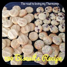 The road to loving my Thermomix: 120 Biscuits Biscuit Muffin Recipe, Biscuit Cake, Biscuit Cookies, Sweet Recipes, Snack Recipes, Cooking Recipes, Belini Recipe, Healthy Biscuits, Basic Cookies