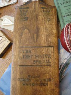 vintage cricket bat