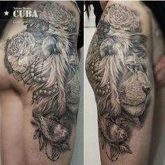 Lion Tattoo ~ Leo Ink