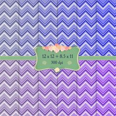 Digital Paper Zig-zag Surprise Chevron 12x12   8.5x11 Inch Happy Celebration Greeting Parallel Holiday Zigzag Digital Event Single Stripe