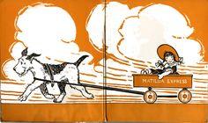 Berta and Elmer Hader / A good little dog