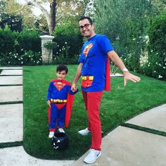 Since Father's Day is fast approaching, here's a #tbt photo of my son and I during last year's Halloween. Like father, like son!