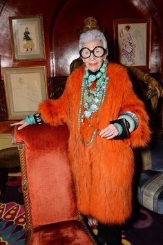 THE lady turns 94 next month but shows absolutely no signs of slowing and now the voracious Iris Apfel has been eternalised in a new film by the late and great director Albert Maysles.