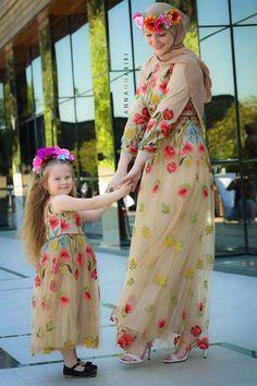 Women S Fashion Express Shipping Mom Dress, Baby Dress, Work Dresses For Women, Clothes For Women, Mom Daughter Matching Dresses, Modest Dresses, Girls Dresses, Abaya Mode, Modest Fashion Hijab