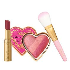 Too Faced Berry Beautiful Lip and Cheek Collection... Can't wait to try this <3
