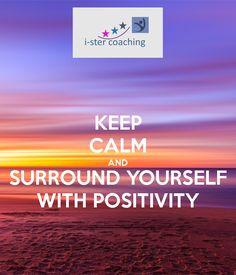 Als je je omringt met positieve zaken en mensen dan voel je je beter.