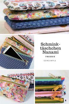 Free pattern: Cute zipper pouch