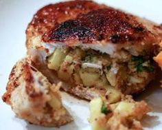 APPLE STUFFED PORK CHOPS RECIPE: Take a look at this recipe for making some delicious Apple Stuffed Pork Chops.