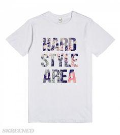 Hardstyle Area | Hardstyle area! Epic #hardstyle t-shirt for those who prefer harder #trance sounds. #Skreened