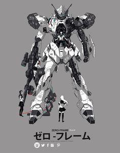 Zero frame Redesign by P-Shinobi