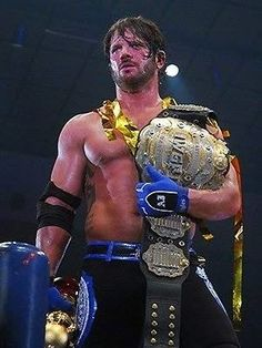Broiled Sports: AJ Styles - The IWGP Heavyweight Champion
