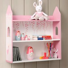 Twinkle Fairy Wall Shelf - An enchanting set of shelves to add a touch of fairy magic to a little girl's bedroom.