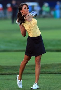 Golf+channel+women | in Sexy Women of Golf and tagged big breasts, Holly Sonders, sexy golf