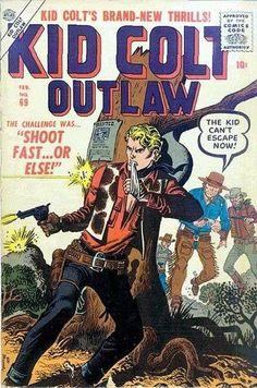 maneely Kid Colt Outlaw Vol 1 #69