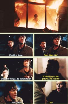 [GIFSET] That's it. That's the show. Y'know before Dean took on the Mark of Cain and turned into a one man team