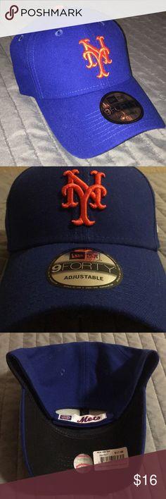 a89b75ecc MLB New York Mets Baseball Cap - New MLB New York Mets baseball cap - One  size fits most - With tag  label - Brand New - Never worn MLB Accessories  Hats