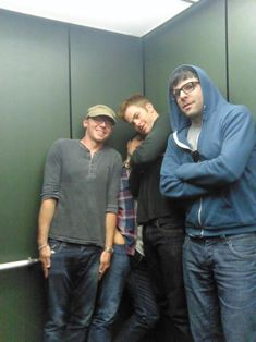Simon Pegg, JJ Abrams, Chris Pine, and Zachary Quinto - I would just like to know what's going on?