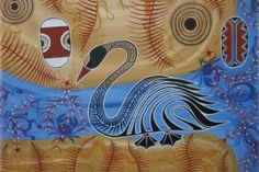 Mooroochy (2001) Artwork contributed by Gubbi Gubbi man and local artist, Lyndon Davies