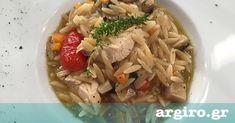 Κριθαρότο με κοτόπουλο από την Αργυρώ Μπαρμπαρίγου | Το κριθαράκι είναι ένα υλικό που αγαπώ ιδιαίτερα, μαγειρεμένο με την τεχνική του ριζότο