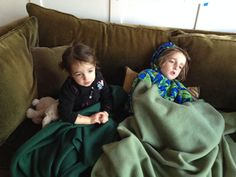 Your Children Are Sick — Tips to Survive a Day in Flu Season on the Gooseling Parenting Blog (www.gooseling.com/blog)