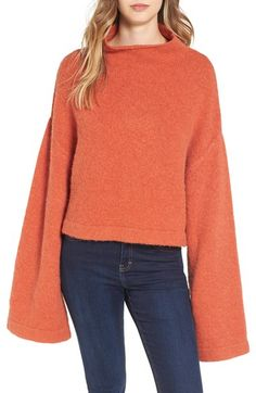 Can't get enough of this amazing bell sleeve sweater!