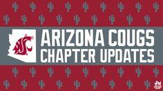 WSU Alumni Association Arizona chapter update infographic | Jonalynn McFadden Design | www.jonalynnmcfadden.com