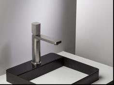 Grifo para lavabo HAPTIC Mezclador monomando lavabo by RUBINETTERIE RITMONIO…