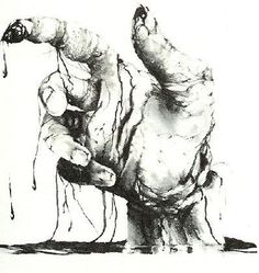 Scary Stories Illustrations by Stephen Gammell - Gallery; my favorite scary story.
