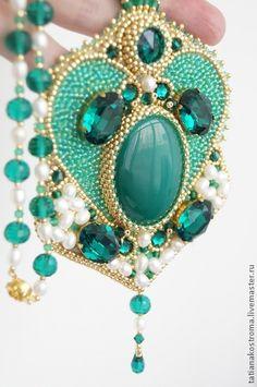 "Кулон ""Emerald"". Handmade."